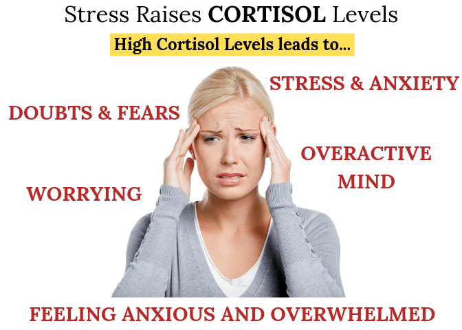 Woman with High Cortisol - Effects