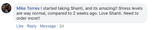 Mike Torres Shanti Supplement Review